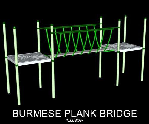 Burmese Plank Bridge