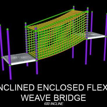 Enclosed Flexi Weave Bridge