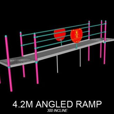 Angled Ramp