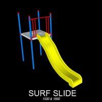 Surf Slide Playground Slide