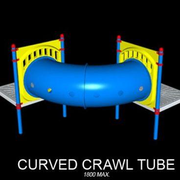 Curved Crawl Tube