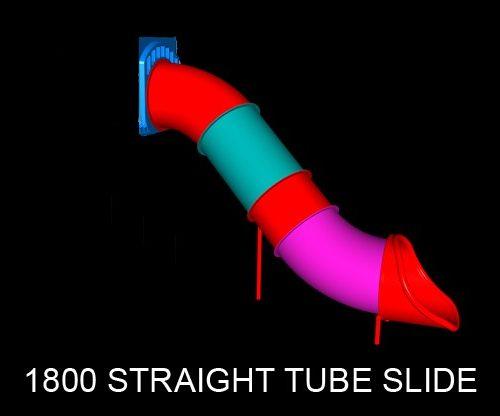 Straight Tube Slide 1800