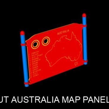 Australia Map Panel
