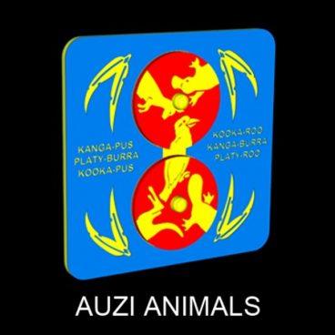 Auzi Animals Panel