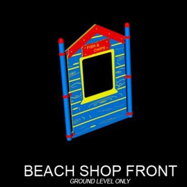 Beach Shop Front Panel