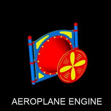 Aeroplane Engine Panel